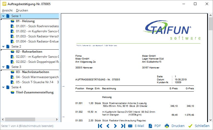 Handwerkersoftware Für Jede Branche Taifun Software